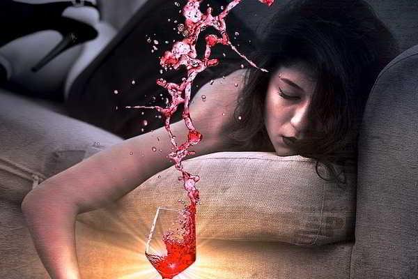 спиртное на ночь