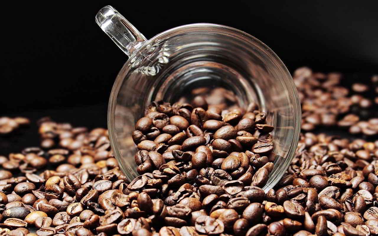 б3 в зерновом кофе