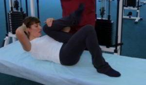 Как снять острую боль в спине? Упражнения.