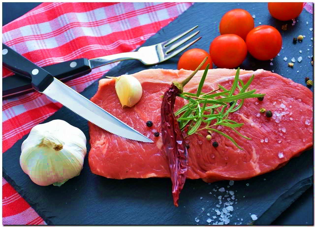 красное мясо запах