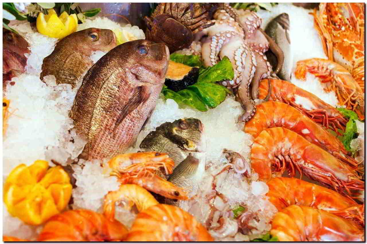 морепродукты с медью