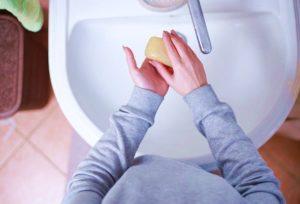 короновирус мытье рук